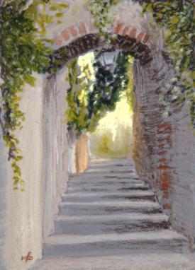 Stairs, Bormes-les-Mimosas